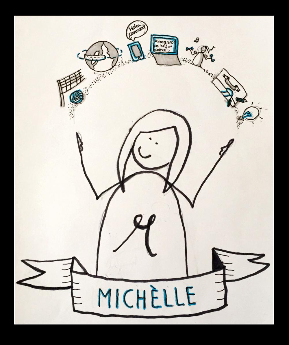 michelle-tekening